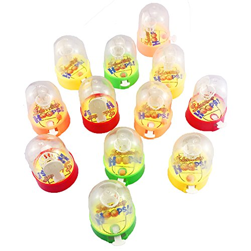 Etmact 12 Pack Mini Finger Basketball Shooting Game