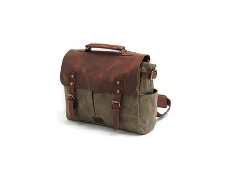 SUVOM Genuine Leather Messenger Bag 14
