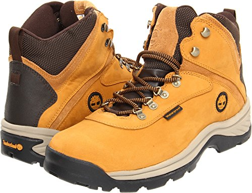 Timberland 14176 Men's Mid White Ledge WP Boot Wheat 10.5 W US