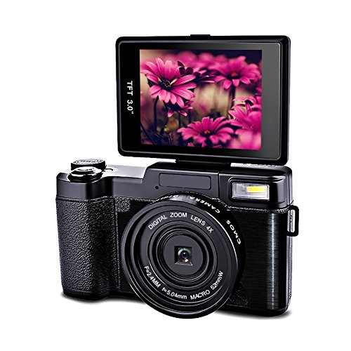 Digital Camera 24.0 MP Camcorder Vlogging Camera Full HD 108
