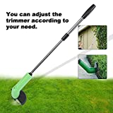Yosooo Grass Trimmer, Portable Handheld Cordless Lawn Garden Edging Decor Tool Grass Cutter Mower