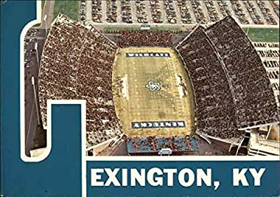 Commonwealth Stadium, University of Kentucky Lexington Original Vintage Postcard