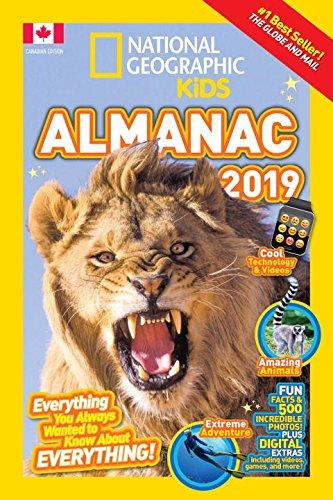 National Geographic Kids Almanac 2019  Canadian Edition  National Geographic Almanacs