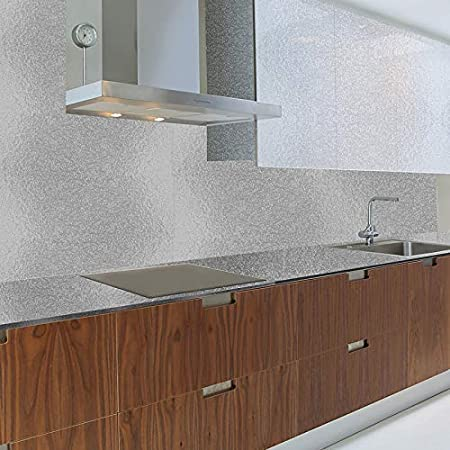 Azulejos Adhesivos Cocina 60X300Cm Cocinas A Prueba De Aceite De La Cocina Estufa Con Adhesivos De Pared A Prueba De Agua Y De Azulejos Campana Papel Pintado Autoadhesivo Para Gabinetes Pegatinas: Amazon.es: