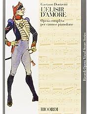 L'elisir d'amore: Vocal Score