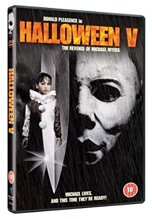 Halloween 5 Blu Ray.Halloween 5 The Revenge Of Michael Myers Dvd Amazon Co Uk