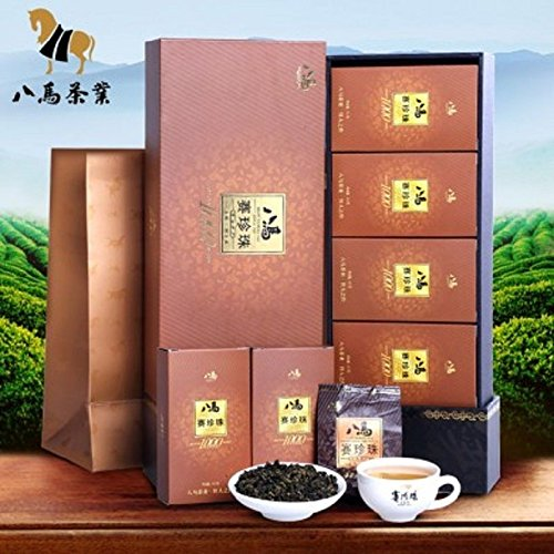 Bama tea NongXiang Tieguanyin tea Chinese Oolong tea 133g 八马茶业特级赛珍珠高档礼盒装 by Yichang Yaxian Food LTD.