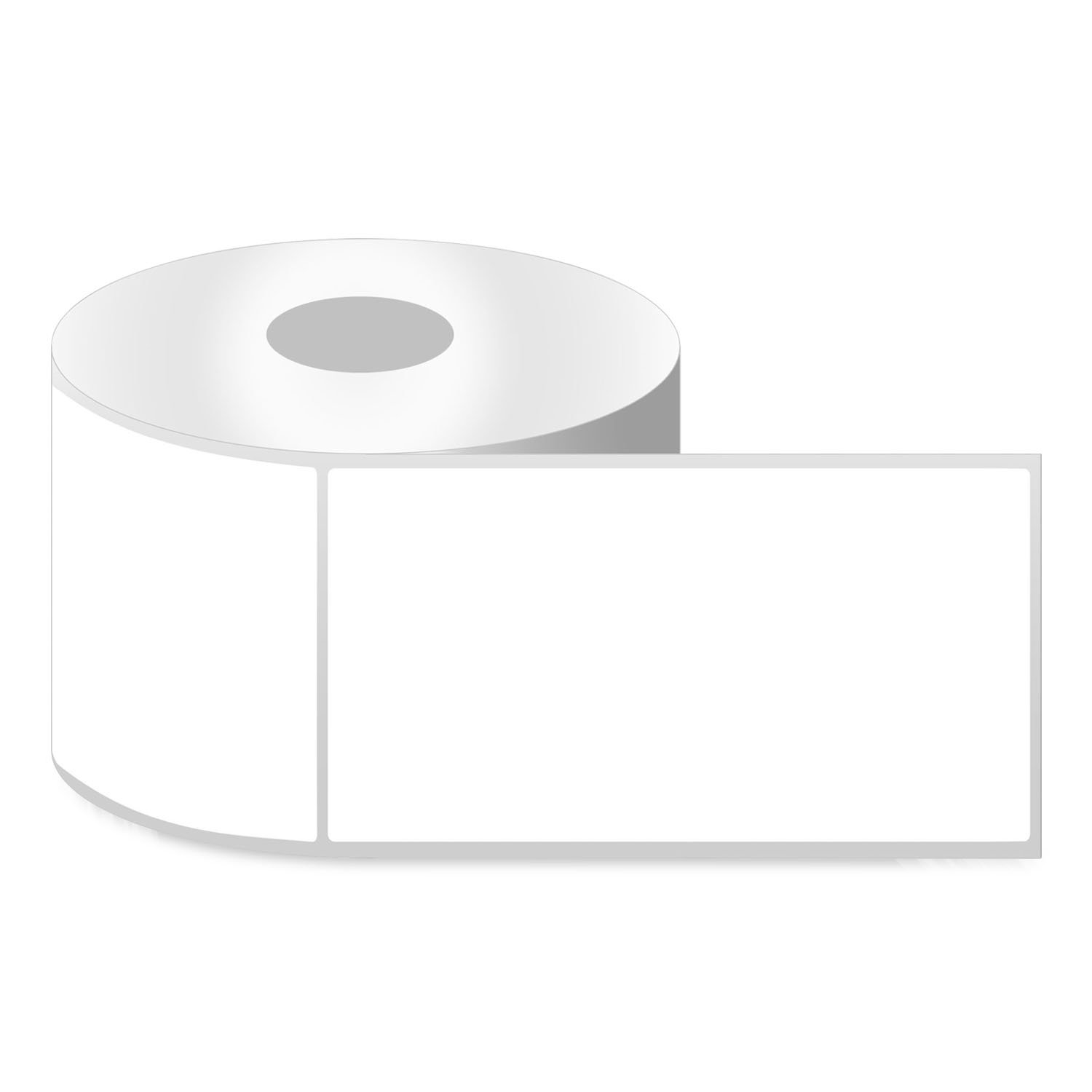 4'' x 6'' [ OfficeSmartLabels ] ZE1400600 Direct Thermal Labels, Compatible with Zebra Printers for Postage Barcode Shipping Desktop Printer Sticker - 4 Rolls / 1'' Core by OfficeSmartLabels