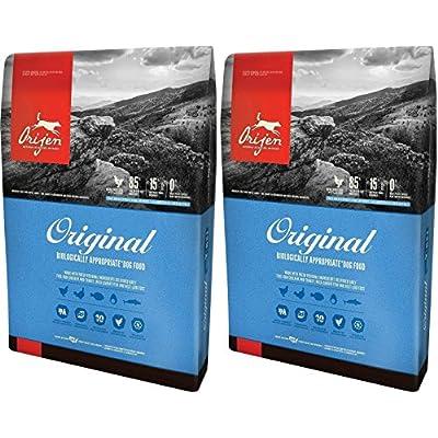(2 Pack) Orijen Original Dry Dog Food, 4.5 lb Per Bag