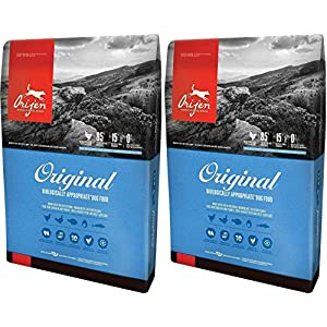 (2 Pack) Orijen Original Dry Dog Food, 4.5 lb Per Bag 112