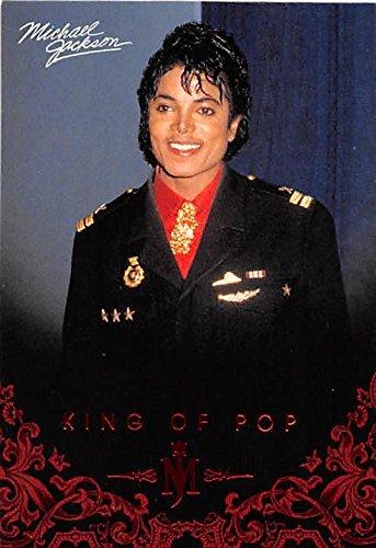Michael Jackson trading card 2011 King of Pop