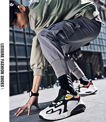 メンズショック実行トレーナー、カジュアル通気性の靴を吸収 (Color : D, Size : 36EU)