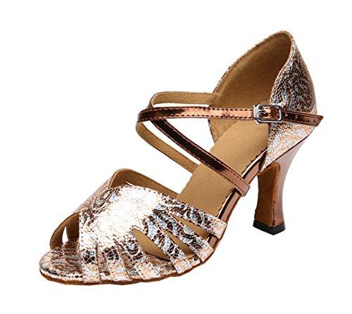 MGM Heel Jazz 8cm Joymod e Moderno Donna Brown 8P8rqUn