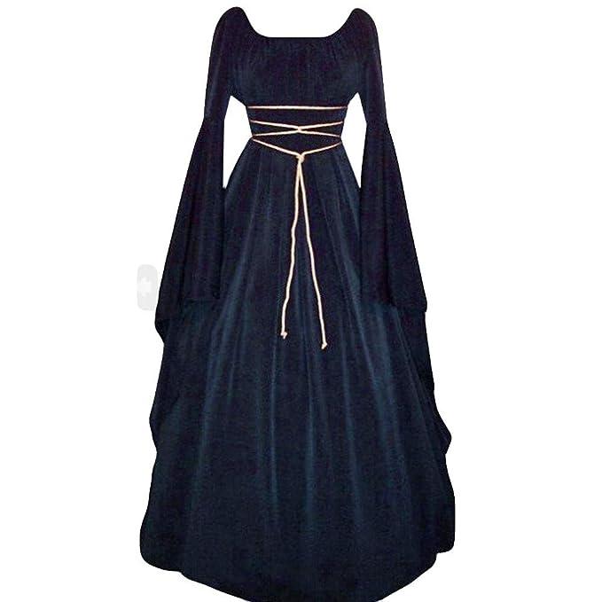 Amazon vestidos medievales mujer