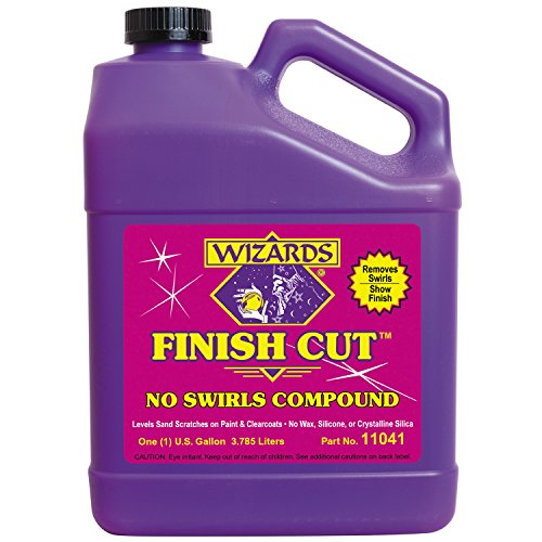 Wizards 11041 Finish Cut Compound - 1 Gallon