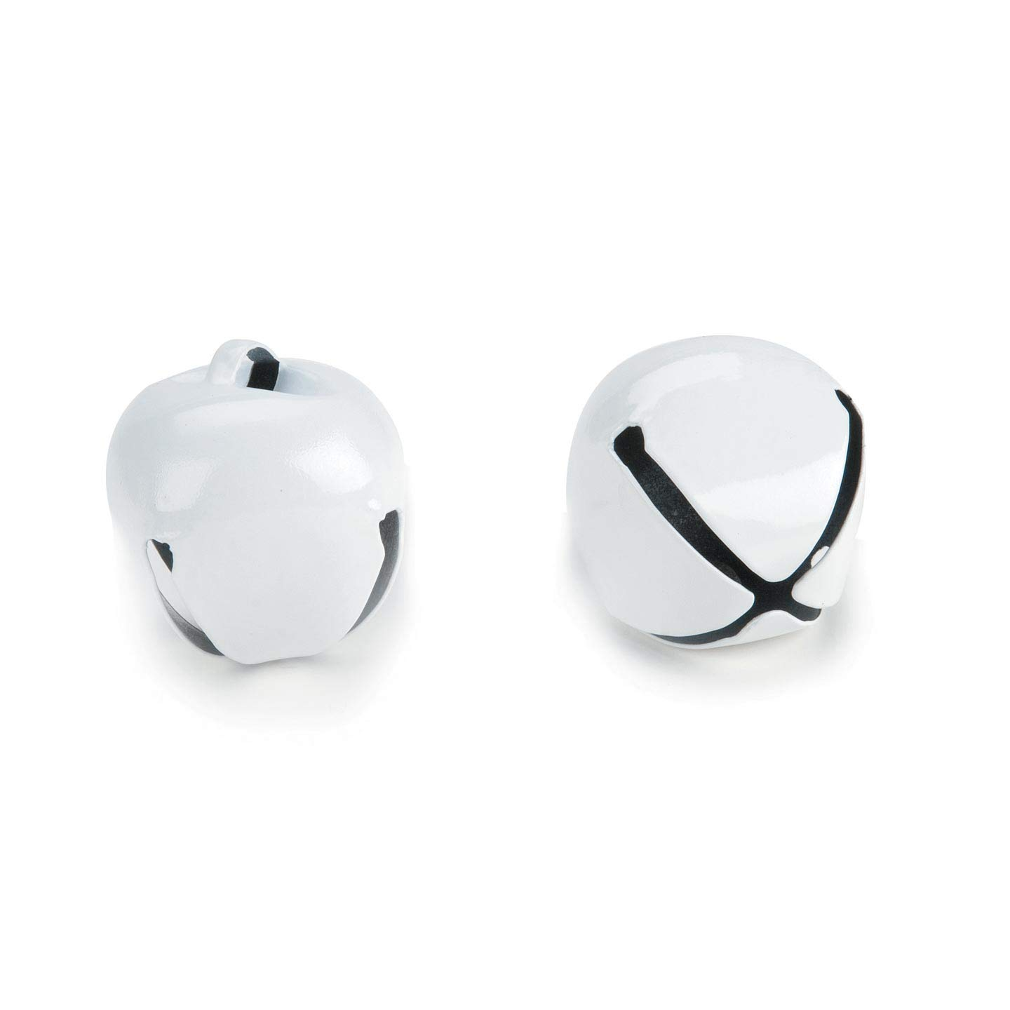 Bulk Buy: Darice DIY Crafts Jingle Bells White 1.5 inches 2 pieces (6-Pack) 1090-32