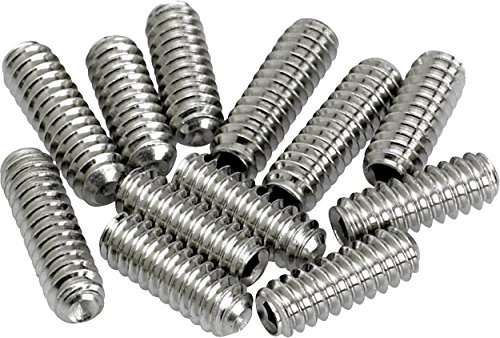 Fender Replacement Screws - Fender American Vintage Stratocaster/Telecaster Bridge Saddle Height Adjustment Screws - Nickel