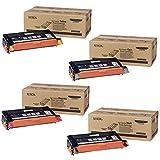 Xerox 113R00726, 113R00723, 113R00724, 113R00725 High Yield Toner Cartridge Set