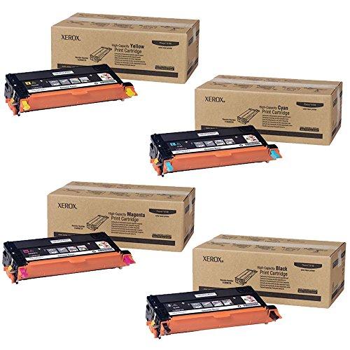 Xerox Phaser 6180 High Yield Toner Cartridge Set