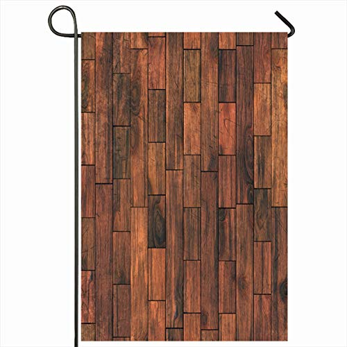 - Ahawoso Outdoor Garden Flag 12x18 Inches Oak Seamlessly Wooden Brown Parquet Flooring High Structure Abstract Chestnut Closeup Covering Seasonal Double Sides Home Decorative House Yard Sign
