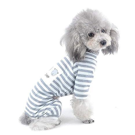 AYWJ Pijamas de Algodón para Perros Pequeños, Mascotas ...