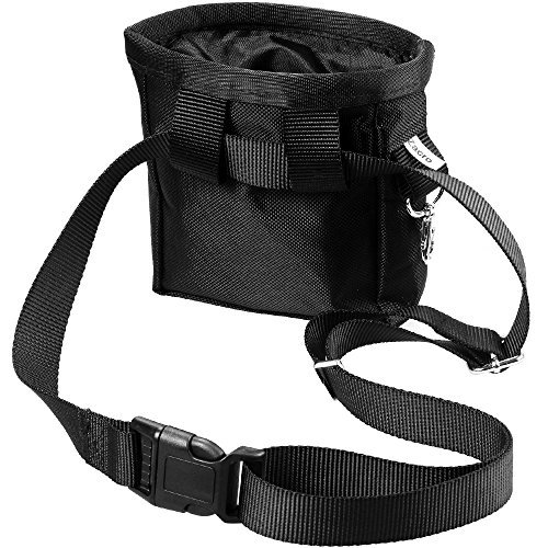 Zacro-Dog-Treat-Training-Pouch-Bag-with-Adjustable-Strap-and-One-Set-of-Training-Clicker