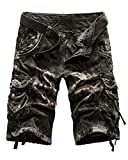ABUSA Men's Walking Athletic Vintage Camo Ghost Cargo Review and Comparison