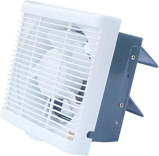 Ventiladores de baño Extractor 6 Pulgadas Ventilador de ventilación Cuarto de baño Inodoro Extractor Ventilador Extractor Cuadrado Tipo Obturador Tipo de Pared: Amazon.es: Hogar