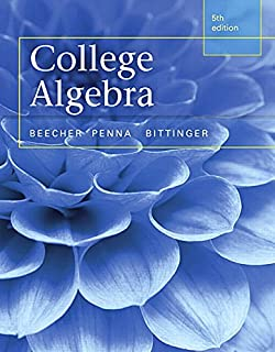 College algebra 4th edition judith a beecher judith a penna college algebra 5th edition fandeluxe Images