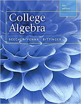 Book College Algebra