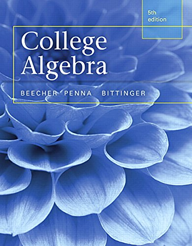 Top 10 recommendation college algebra 5th edition for 2020