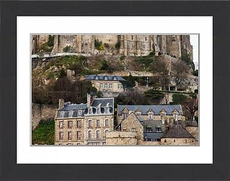 Media Storehouse Framed 16x12 Print Of Interior Of Mont Saint Michel