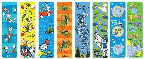 photograph about Dr Seuss Printable Bookmarks identify Dr Seuss Bookmark Selection Established, 50 Components (66869)