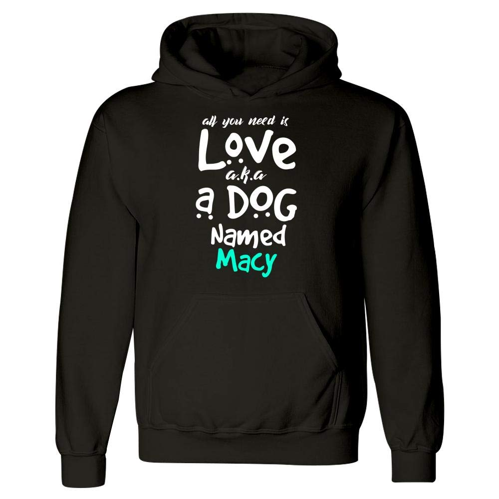 Hoodie A Dog Named Macy Puppy Lover