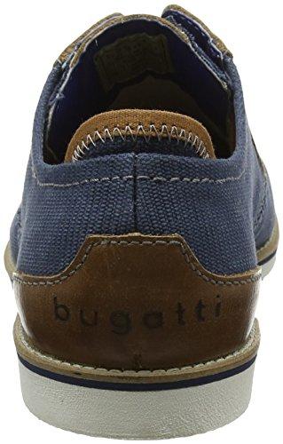 Blu Bugatti Stringate Scarpe Cognac Derby Uomo 311451026910 Blue zP1Pwqp