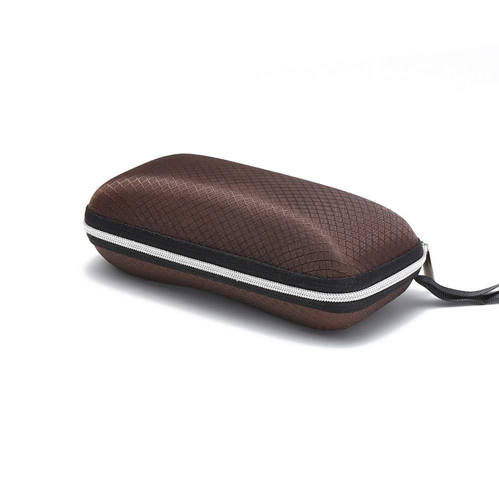 TADAMI Portable Travel Zipper Sunglasses Hard Case Eyes Glasses Box