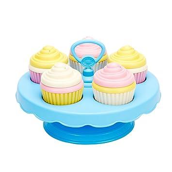 Amazoncom Green Toys Cupcake Set Toys Games