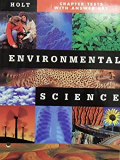 amazon com holt environmental science chapter resources cd rom
