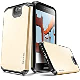 Evocel HTC One A9 [Dual Layer Series] Hybrid Armor Protector Case For HTC One A9 / HTC Aero - Retail Packaging, Gold Medal (EVO-HTCA9-SA15)