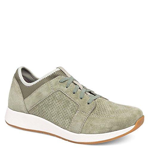 Dansko Women's Cozette Sage Suede Shoe - Dansko Sage