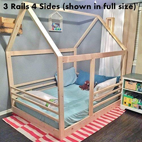 House Bed Frame Bed PREMIUM WOOD
