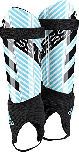 adidas Performance Messi 10 Youth Shin Guards, Energy Aqua/White/Legend Ink, Medium