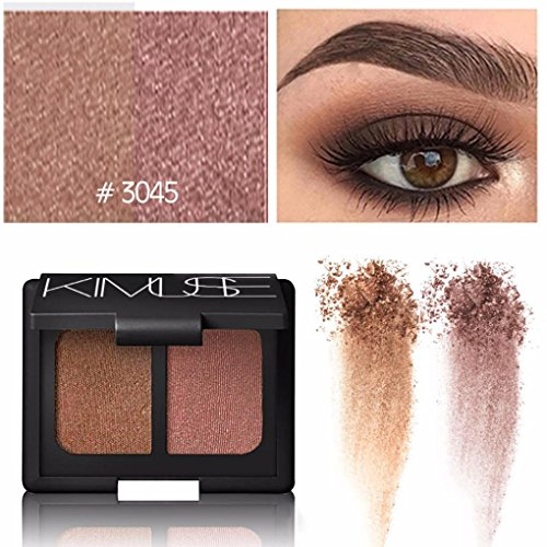 Eyeshadow Palette Makeup Matte Shimmer 2 Colors High Pigment