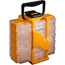 Stack-On SBT-705 Small Parts Storage Organizer, Yellow