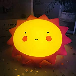 LED Night Light for Kids Moon Star Lamp Bedroom Nursery Decor Birthday Christmas Party Gift for Baby Romantic Table Light Bedside Lamp for Child Girl Women Soft Silicone Nightlight