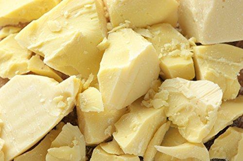 Raw Cocoa Butter 1 lb Combo Raw Shea Butter 1 lb 100% PURE