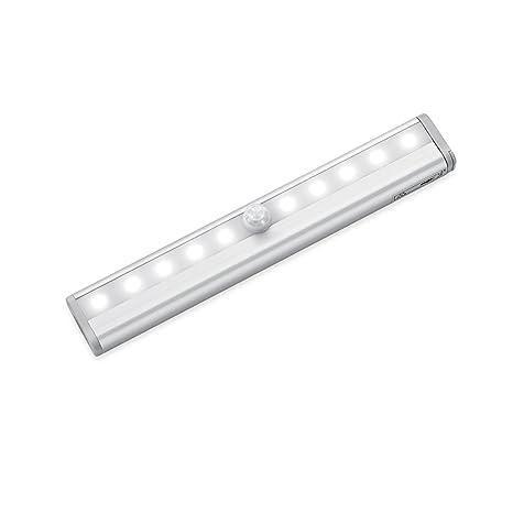 INCHANT 10 LED con pilas luz de la noche Barra de luz del sensor de movimiento