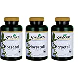 Swanson Horsetail Hair Skin Nails Beauty Urinary Tract Support Supplement 500 mg 90 Capsules (3 Pack)