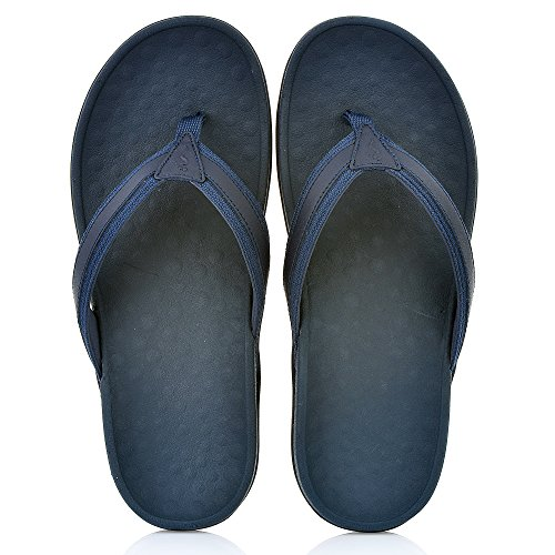 Footminders BALTRA Unisex Orthotic Arch Support Sandals (Pair) - Walking Comfort with Orthopedic Support Navy Blue MwEVv625R