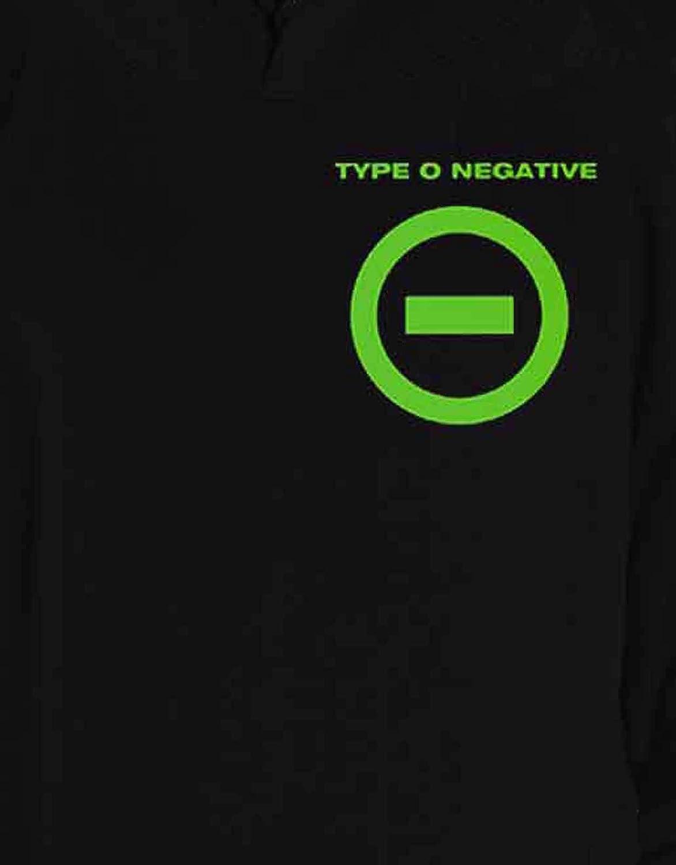 """Type o negative /""""EXPRESS Yourself/"""" Pullover Con Cappuccio-Nuovo Ufficiale"""